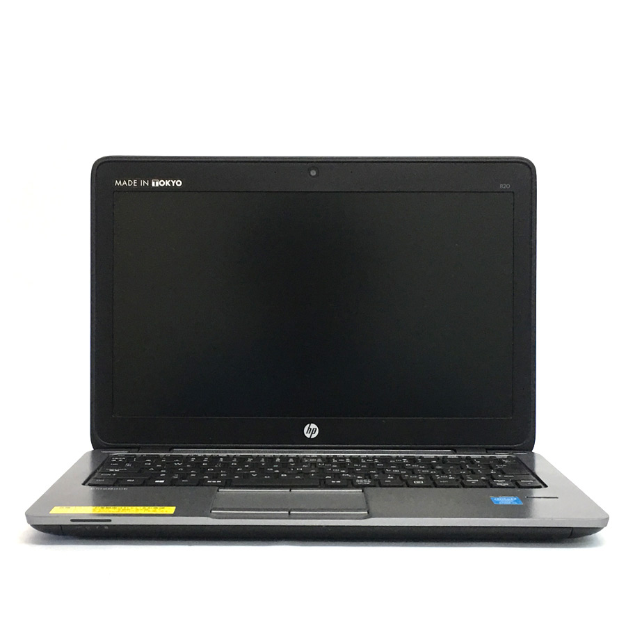 HP EliteBook 820 G1 Corei5 4200U 1.6GHz / メモリー4GB HDD320GB / Windows10 Home 64bit / 無線LAN内蔵 WEBカメラ / 12.5型 HD液晶 [管理コード:7728]