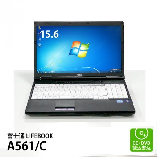 富士通 LIFEBOOK A561/C Core i3-2310M 2.10GHz(メモリー4GB、HDD250GB、DVDマルチ、テンキー搭載、Windows7 Professional 64bit)
