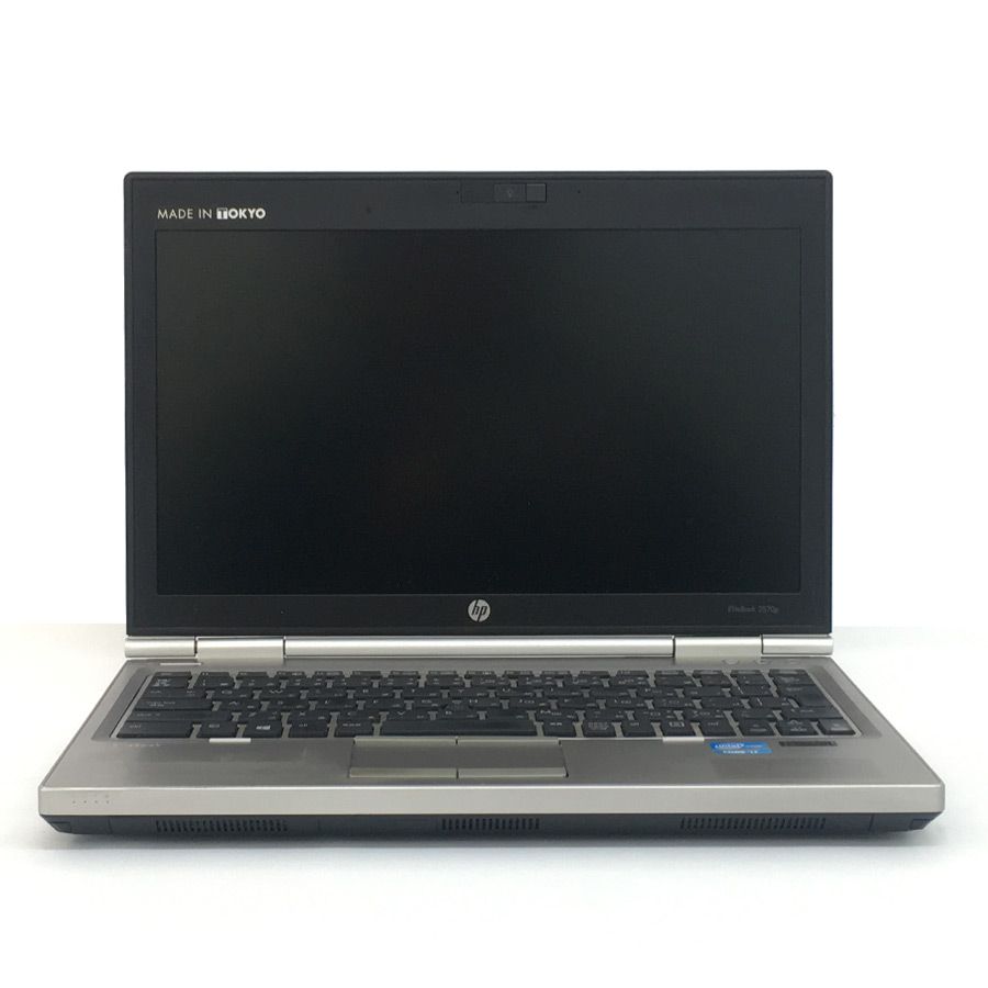 HP Elitebook 2570p/CT Corei7 3520M 2.9GHz / メモリー8GB SSD128GB / Windows10 Home 64bit / 12.5型[1366×768] [管理コード:9849]