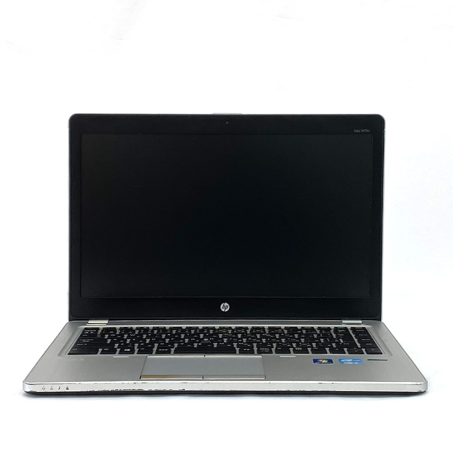 EliteBook Folio 9470m / Corei5 3337U 1.8GHz / メモリー4GB HDD320GB / Windows10 Home 64bit / 14型HD液晶 / WEBカメラ 無線LAN Bluetooth内蔵 [管理コード:5082-GE]