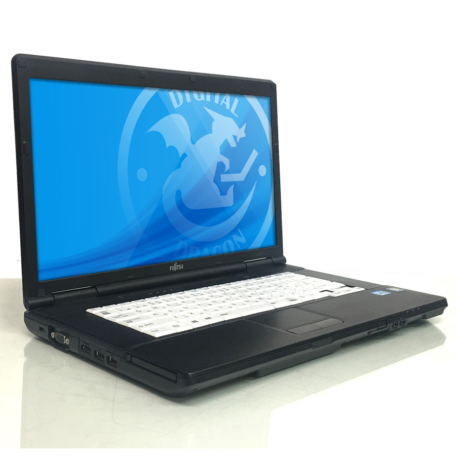 【即納】 LIFEBOOK A561/D Core i5 2520M 2.5GHz / メモリー8GB HDD250GB / Windows10 Pro 64bit / DVD-ROM 15.6型HD液晶 【管理コード:A561D-R】